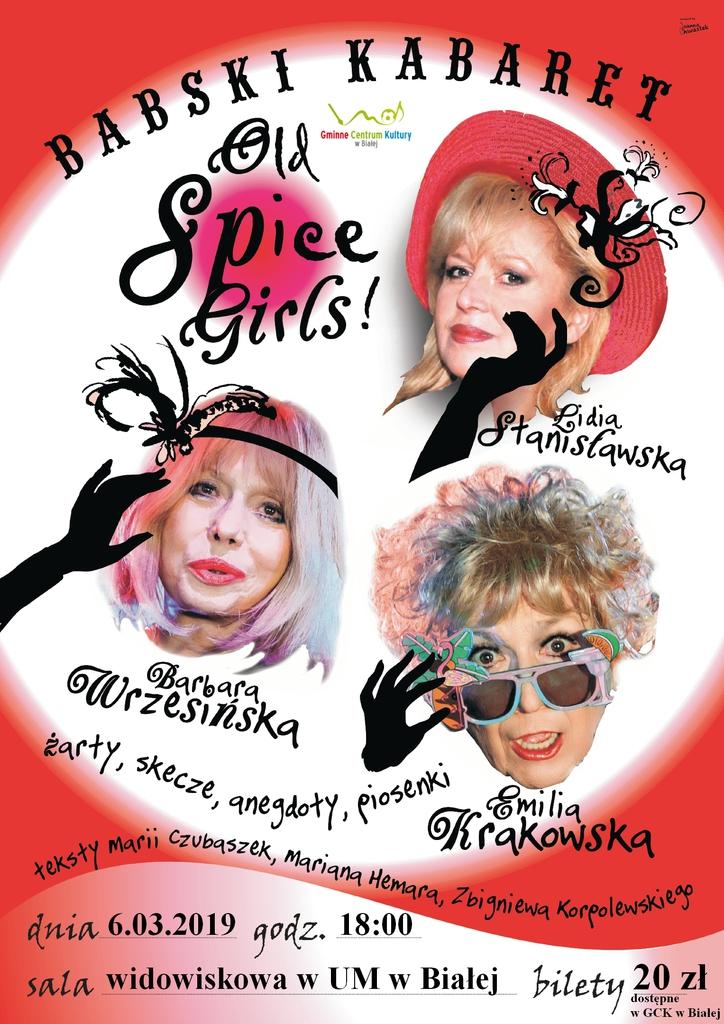 Plakat promujący Babski Kabaret