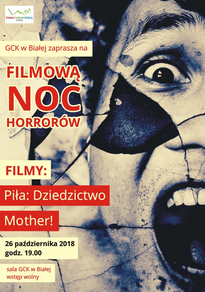 Plakat promujący noc horrorów 2018.jpeg