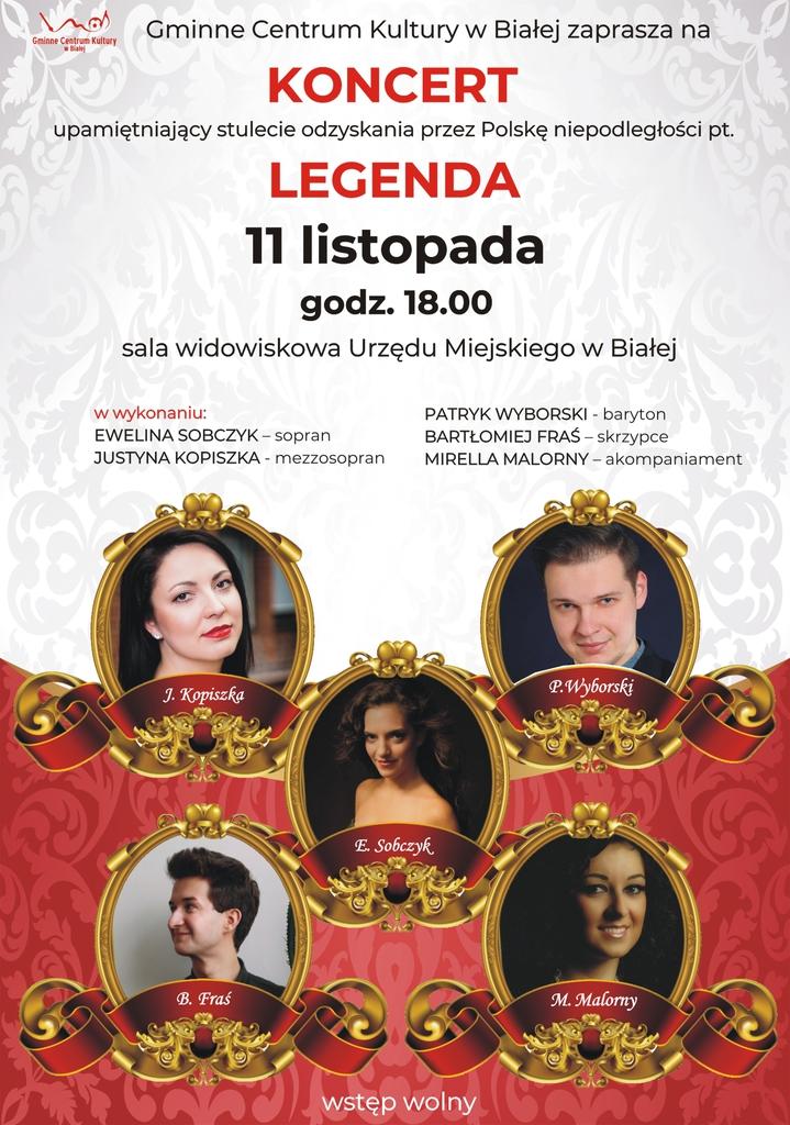 Plakat promujący koncert Legenda.jpeg