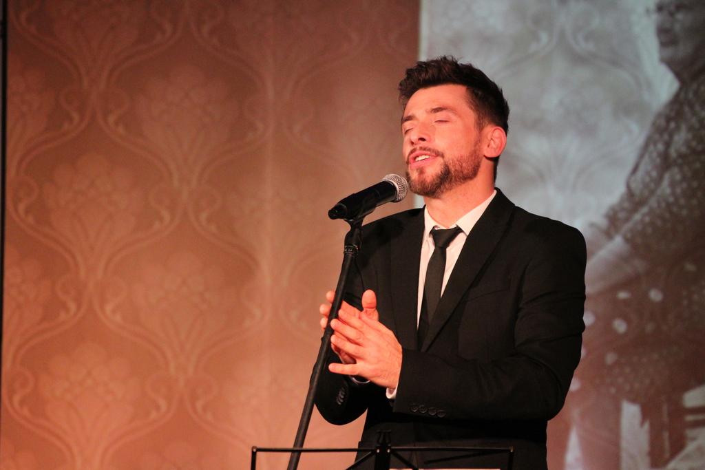 Kacper Kuszewski podczas występu