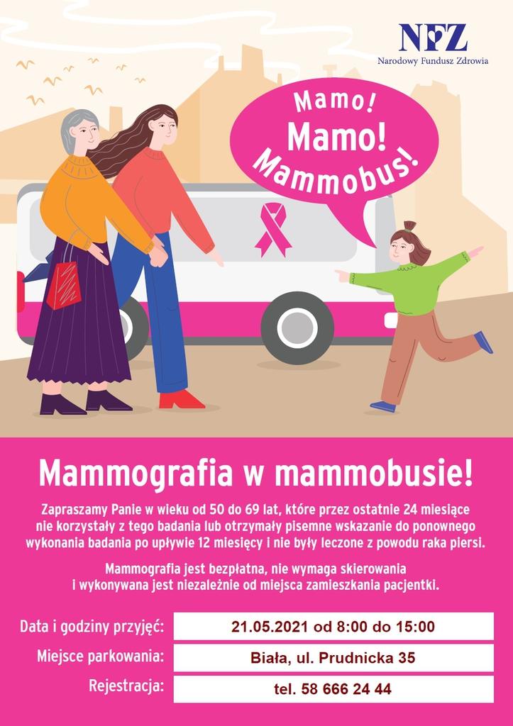 plakat z informacją o badaniu mammograficznym.jpeg