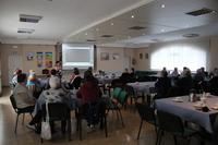 Na zdjęciu publika zebrana w sali w GCK w Białej