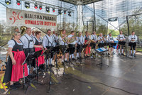 Na zdjęciu orkiestra dęta z Niemiec - Die Tippelbruder