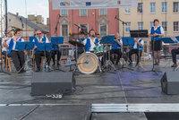 Zdjęcie przedstawia orkiestrę dętą z Albrechcic