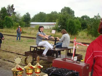 Wyścigi Drezyn Ręcznych - 2010