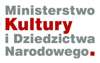 Zdjęcie przedstawia logo Ministerstwa Kultury i Dziedzictwa Narodowego