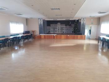 Zdjęcie przedstawia salę konferencyjną