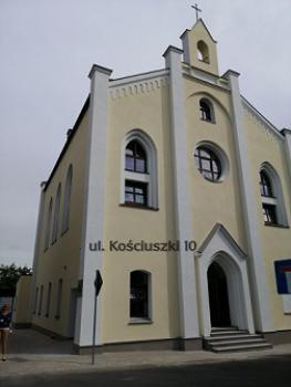 Zdjęcie przedstawia nowy budynek Miejskiej i Gminnej Biblioteki Publicznej w Białej