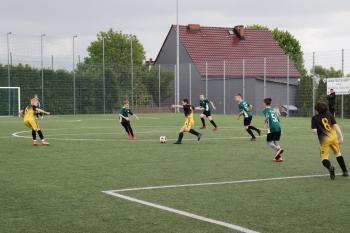 Na zdjęciu kadr z rozgrywek piłki nożnej