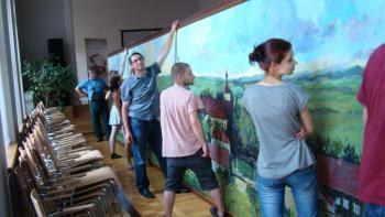 Artystyczne spotkania młodych- Lato bez granic Biała - Albrechtice 2011