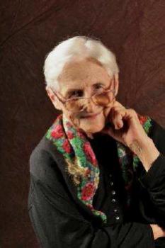 Zdjęcie przedstawia Annę Myszyńską.