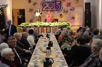 25.01.2015 w sali widowiskowej urzędu miejskiego odbyło się noworoczne spotkanie seniorów.