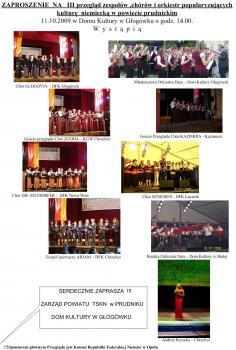 Zaproszenie na przegląd 11_10_2009 w Głogówku .jpeg