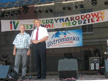 Burmistrz Białej - Arnold Hindera
