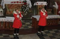 6.01.2017 - Koncert kolęd i pastorałek - Klaudia i Kasia Chwołka